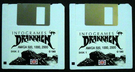 Detalles de Drakkhen Amiga Infogrames +CIB+ 1989 *Rare*
