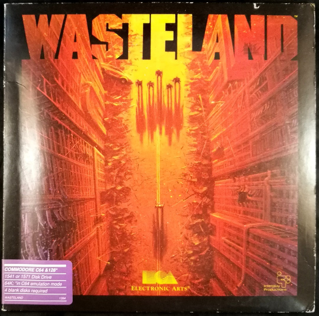 Details about Wasteland - Commodore 64 C64 - Complete in Folio - Apple II